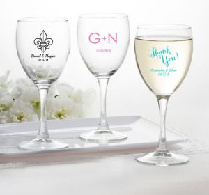 Personalized Wine Glasses <br>(Printed Glass)</br>
