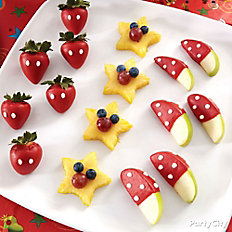Mickey Mouse Candy-Covered Strawberries
