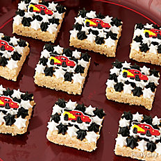 Cars Crispy Rice Treats