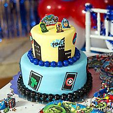 Avengers Fondant Cake