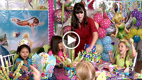Tinker Bell Party Ideas Video