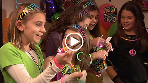 Neon Doodle Party Ideas Video