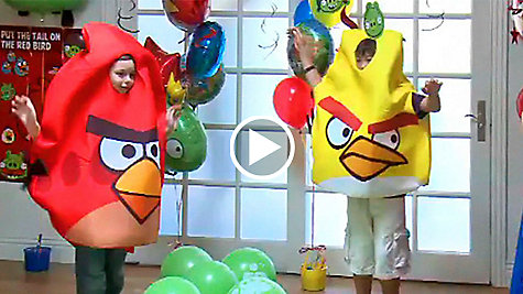 Angry Birds Party Ideas Video