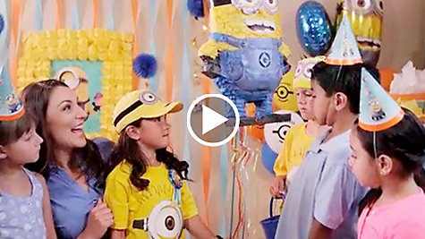 Despicable Me Party Ideas Video