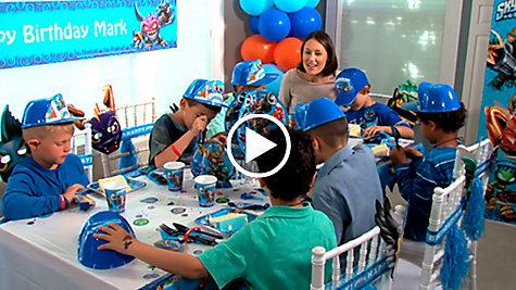 Skylanders Party Ideas Video