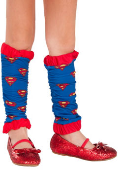Child Supergirl Leg Warmers