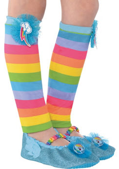 Child Rainbow Dash Leg Warmers - My Little Pony