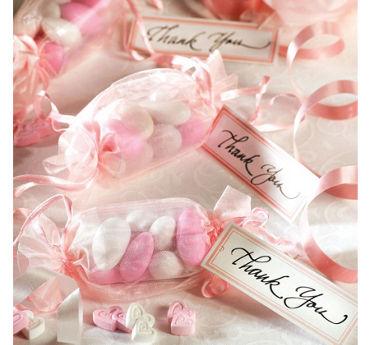 Pink Wrapper Favor Kit