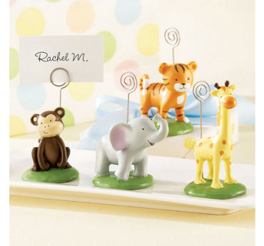 Jungle Animal Place Card Holders 4ct