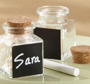 Chalkboard Favor Jars