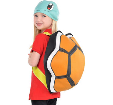 Child Squirtle Costume Accessory Kit 2pc - Pokemon