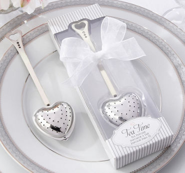 Elegant Heart Tea Infuser