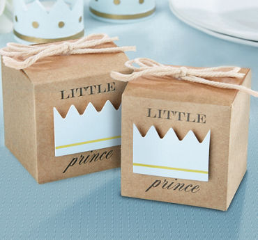 Kraft Little Prince Favor Boxes 24ct