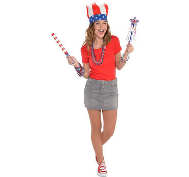 Womens Patriotic Basic Accessory Kit