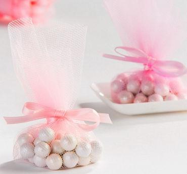 Pink Tulle Circles 30ct