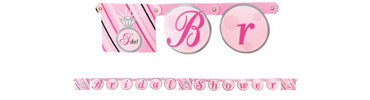 Bride To Be Jointed Banner 6 1/4ft