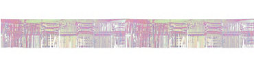 Iridescent Foil Fringed Garland 20ft