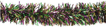 Mardi Gras Tinsel Garland 9ft