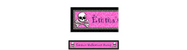 Pretty in Pink Custom Birthday Banner 6ft