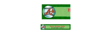 Atlanta Braves Custom Banner 6ft