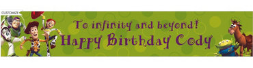 Woody and Friends Custom Birthday Banner 6ft