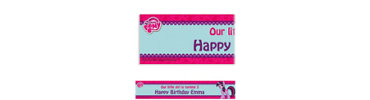 My Little Pony Custom Banner 6ft
