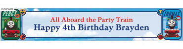 Thomas the Train Custom Banner 6ft