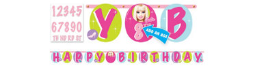 Add an Age Barbie Banner 10 1/2ft