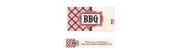 It's BBQ Time Custom Banner 6ft