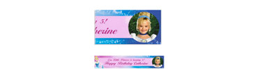 Cinderella Custom Photo Banner 6ft