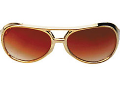 Rock & Roller Gold Sunglasses