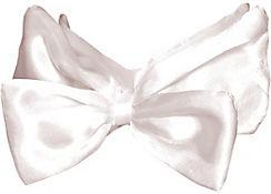Deluxe White Bow Tie
