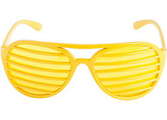 Yellow Slotted Shades