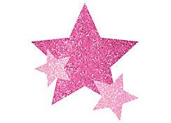 Pink Stars Body Jewelry
