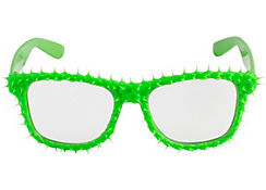 Neon Green Frosting Glasses