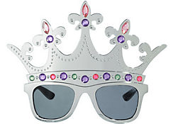 Queen Silver Crown Sunglasses