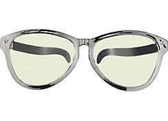 Silver Giant Fun Glasses