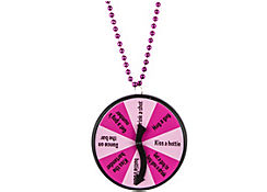 Bachelorette Party Game Dare Necklace - Team Bride