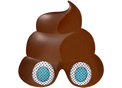 Poop Icon Glasses