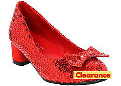 Girls Sequin Dorothy Shoes