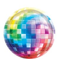 tableware - Disco Party Decorations