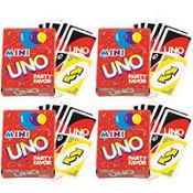 Uno Mini Games 4ct