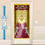 Red Carpet Awards Night Door Decoration 60in