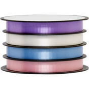 Multi Channel Pastel Curling Ribbon