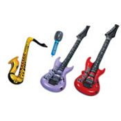 Inflatable Rock Band Instruments 4pc