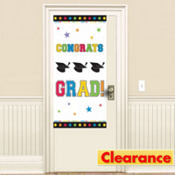 Dazzling Grad Graduation Door Decoration 65in