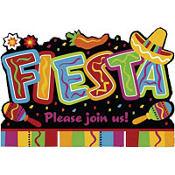 Fiesta Fun Invitations 8ct