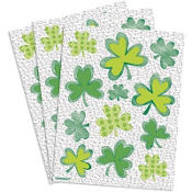 Shamrock Pristmatic Stickers 3 Sheets