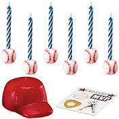 Baseball Topper Set with Decals 14ct