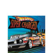 Hot Wheels Fast Action Beverage Napkins 16ct